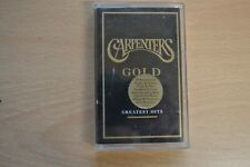 CARPENTERS GOLD   GREATEST HITS     CASSETTE TAPE    very rare