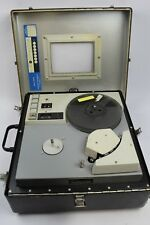 Rare Vintage Lockheed Electronics Co. Model 417 Reel to Reel Data Recorder*