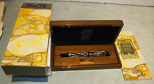 MONTBLANC Andrew Carnegie Limited Edition Gold & Sterling Holzkiste/Broschüre