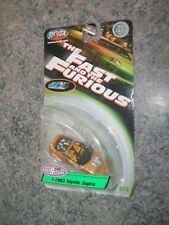 1993 TOYOTA SUPRA gold convertible Series 9 FAST and FURIOUS scale 1:64 SEALED