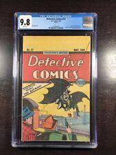 Detective Comics #27 CGC 9.8 WP (DC 1984) Oreo Cookies Reprint