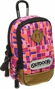 OUTDOOR PRODUCTS camera pouch 01 LA map pink ODCP01LAPK JPN
