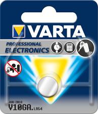 10x Varta Professional Electronics v10ga pile bouton lr1130 lr54 Blister