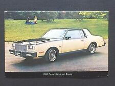 1980 BUICK SOMERSET COUPE  promotional postcard (for dealers use).ever own one??