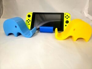 Large Elephant Phone or Tablet Holder   Phone Stand   Switch Stand   Ipad Stand