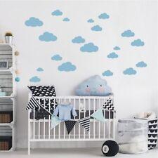 WANDTATTOO Wandaufkleber DIY Set - 20 Stk. Wolken Wölkchen Kinderzimmer Deko 787