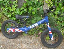 "Frog Tadpole Kids Union Jack Joanna Rowsel Aluminium Balance Bike 12"" Tyres"