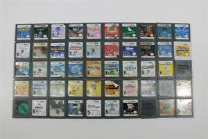 Nintendo DS Lot of 50 Games -Discounted- Chrono Trigger, Mortal Kombat, TMNT