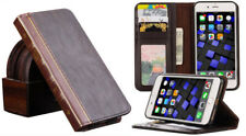 Classic Old Book Design Antique Vintage Card Wallet Case Cover For iPhone 6 Plus