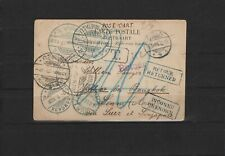 Thailand 1908, postcard from Cologne to Bangkok, unfranked, returned, taxed