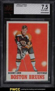 1970 Topps Hockey Bobby Orr #3 BVG 7.5 NRMT+