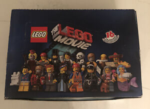 THE LEGO MOVIE 71004 MINIFIGURES - CASE OF 60 - NEW IN UNOPENED PACKS!!!