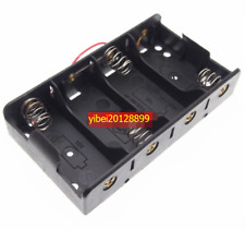 1pc x Hold 4 C Size Cell Battery Holder Box 6V DC Case With Cable Line