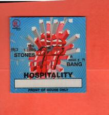Rolling Stones Tour 2005 A Bigger Bang Backstage Pass - Hospitality Blue