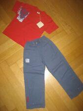 "Miniman T-Shirt mit Hose ""Heißluftballon"" NEU Gr.114 116 blau-rot"