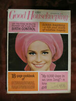 GOOD HOUSEKEEPING Magazine September 1965 Linda Darnell Mary Stewart Hugh Cave