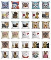 Yorkie Throw Pillow Cases Cushion Covers Home Decor 8 Sizes by Ambesonne
