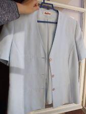 Bel ensemble tailleur Veste Jupe Burton - Bleu Ciel - Taille 44 - Voir Mesures