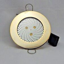 12 v Caravan Boat Cabin Light LED Flush Recessed Mounted Stainless & Gold Plated