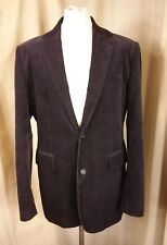 Ralph Lauren Mfg. Polo Jeans Co. Half Lined Black Cotton Corduroy Jacket XL C44