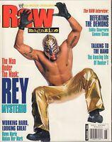 WWE Raw Magazine December 2002 Rey Mysterio, Eddie Guerrero VG 032916DBE