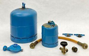 CampinGaz Flaschen R907 und R901 Umfüllschlauch, Ventil, Regler, Adapter