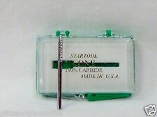 Made in Usa Pro Nail Drill Carbide Silver Pointed Under Nail Cleaner 3/32