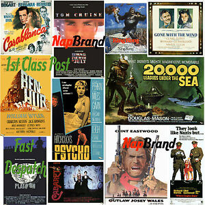 2300 Vintage / Classic Old Movie Posters Images Jpeg on CD Craft Decoupage