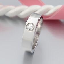 Cartier Ring -1 Brillant (Diamant) ca. 0,10ct- 18K/750 Weißgold - 56 (17,8 mm Ø)