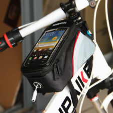 """Cycling Bags Bicycle Frame Pannier Bike Bag for Cell Phone 5.5"""" Waterproof New"""
