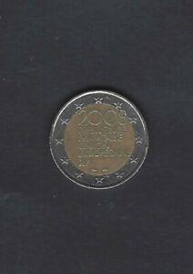 2 Euro Münze Fehlprägung Stern im Rand Frankreich Gedenkmünze 2008