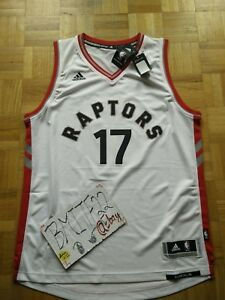 NWT Jonas Valanciunas Toronto Raptors Home Adidas R30 Swingman Men Jersey XL