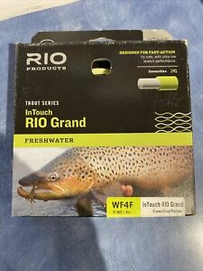 NEW RIO GRAND IN TOUCH INTOUCH WF-4-F #4 WEIGHT FORWARD FLOATING FLY LINE