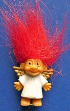 BUY1&GET1@50%~Russ MINIATURE FIGURINE Christmas TROLL Doll ANGEL Vtg '80s