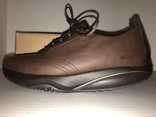 Women's NEW size 11 MBT Wingu Brown Leather Shoes