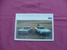 1970 Ford, Mercury, Lincoln full line sales brochure, NOS! Mustang, Cougar