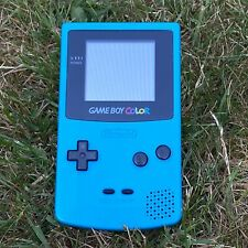 Nintendo Gameboy Color - Teal - CGB 001 - Good Working Order - With Carry Case