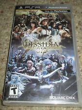 Dissidia 012 duodecim Final Fantasy  (PlayStation Portable 2011) NEW Sealed PSP