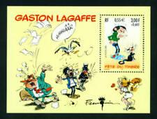 FRANCE 2001 MNH** Neuf GASTON LAGAFFE M/Sheet Bloc 22 Comic Art Stamp - MINT