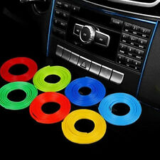 5M Auto Accessories Car Universal Interior Decorative Line Push In Gap Colorful