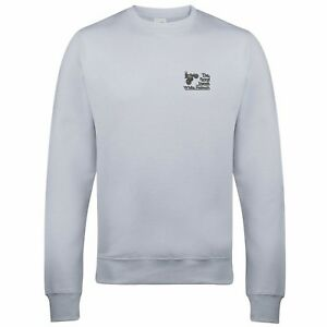 Royal Signals White Helmets embroidered Sweatshirt