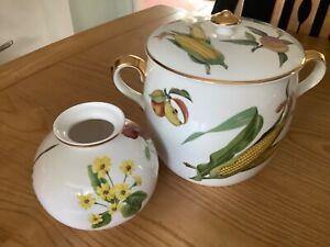 Royal Worcester Evesham flameproof porcelain
