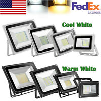 LED Flood Light 10W 20W 30W 50W 100W 150W 200W 300W 500W Outdoor Spotlight 110V
