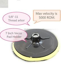 7 Inch Plastic Foam Backer Pad 5/8-11 For Diamond Polishing Pads Stone Concrete