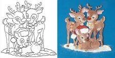 Reindeer Patchwork Cutter  Christmas Cake Cutter FAST NEXT DAY DESPATCH