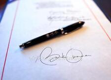 Photo. 2009. Barack Obama's Pen and Signature