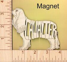 Cavalier King Charles Spaniel Dog wood Magnet Great Gift Idea