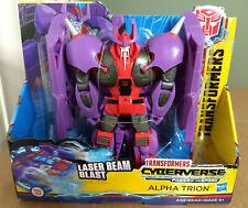 Transformers Cyberverse Ultra Class Alpha Trion Figure