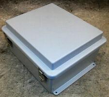 Electrical Enclosure Control Box Rittal 8013247 Hinged Cover Fiberglass 14x12x7