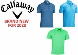 Callaway Mens Box Jacquard Golf Polo Shirt **BRAND NEW FOR 2020/21**
